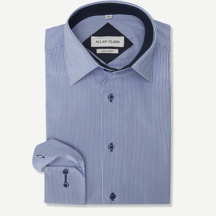 Jackson Skjorte - Skjorter - Regular - Blå